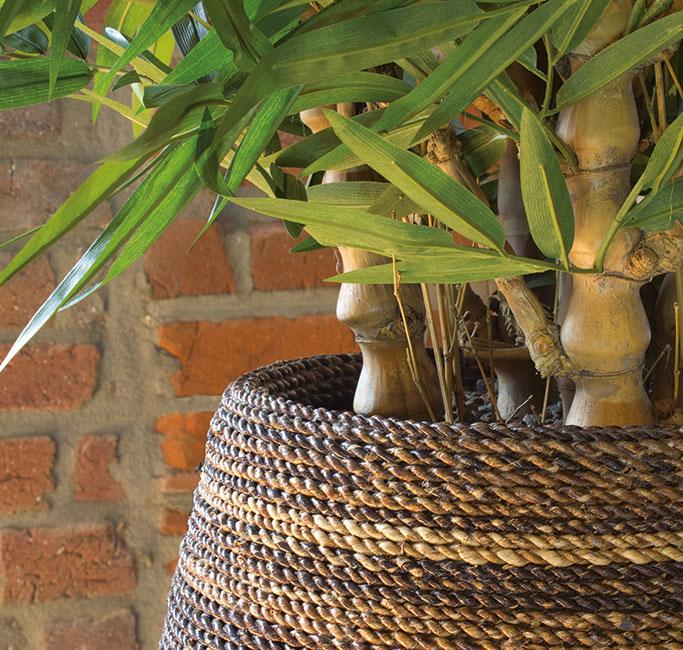 konstväxter och dekorationsmaterial